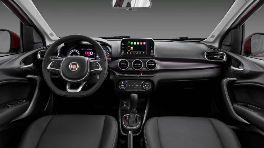 Interior do Fiat Cronos
