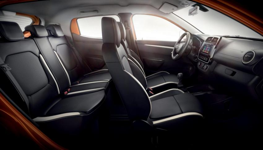 Interior do Renault Kwid