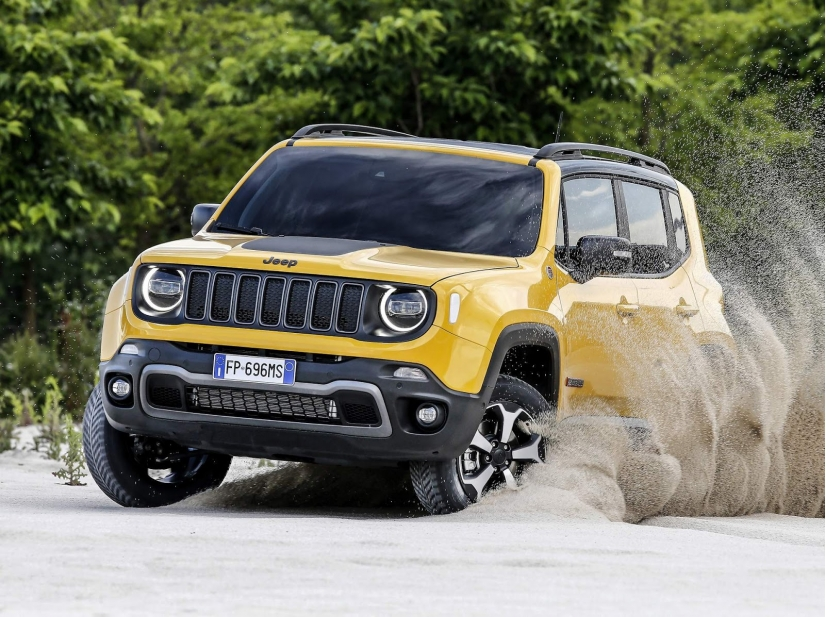 Jeep Renegade 2019 Surge Com Visual Repaginado Automovel Nacional